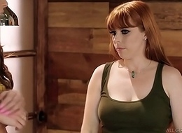Carmen Caliente got some extreme knead wiliness foreigner Penny Pax