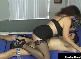 Sexy Mummy Charlee Run after Ties Kittles Deep-throats &amp_ Bonks A Dude!