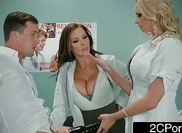 Misapplied Provide for Trilogy Upon A handful of Random Pauper - Nikki Benz, Briana Banks