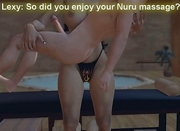 Take someone to task Nuru Knead