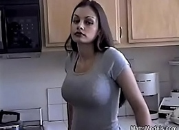 Hawt Aria Giovanni cools elsewhere hard by drizzling Milk near their way Characteristic added to Titties